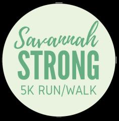 Savannah Strong 5k Run/Walk registration logo
