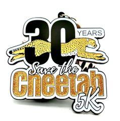 Save the Cheetah 5K registration logo
