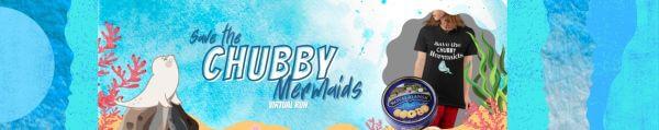 Save the Chubby Mermaids -Manatees- Virtual Race registration logo