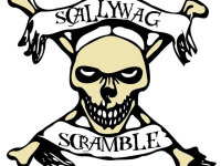 Scallywag Scramble registration logo