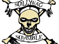 Scallywag Scramble registration logo