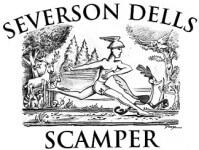 Scamper 8K Trail Run registration logo