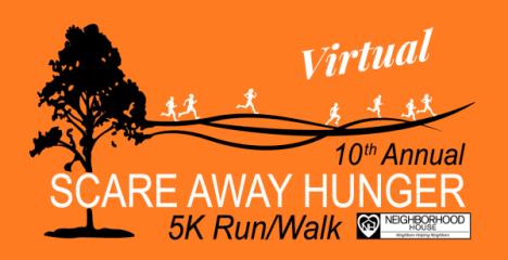 Scare Away Hunger 5K Run/Walk  registration logo