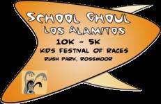 School Ghoul 5/10K Los Alamitos registration logo