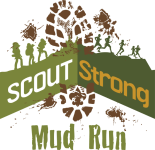 Scout Strong Mud Run registration logo