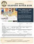 Seaport River Run registration logo
