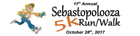 Sebastopolooza 5K Race registration logo