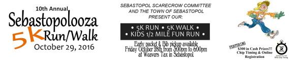 Sebastolpolooza 5K registration logo
