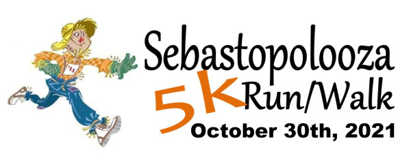 Sebastopolooza 5K Race registration logo