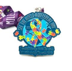 See the World 1M 5K 10K 13.1 26.2 - Autism Awareness registration logo
