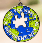 See The World A Different Way 5K for Autism Awareness - Clearance from 2018 registration logo