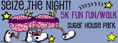 Seize the Night  5K Fun Run and Walk registration logo