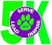 Serve Lead Inspire 5K 2017 registration logo