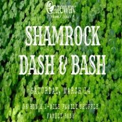 Shamrock Dash & Bash registration logo