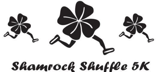 Shamrock Shuffle registration logo