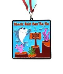 Shark Bait Hoo Ha Ha 1M 5K 10K 13.1 and 26.2 registration logo
