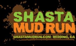 Shasta Mud Run - May 11 registration logo