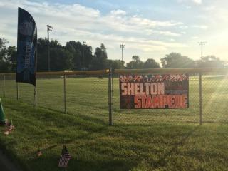 Shelton Stampede 4th of July Run registration logo