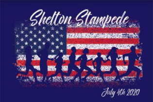Shelton Stampede 4th of July Run registration logo
