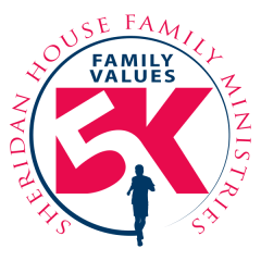 Sheridan House Family Values 5K registration logo