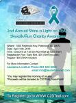 Shine a Light on Teal 5K Walk/Run registration logo