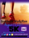 Shine Bright like a Diamond Survivors 5K Walk/Run registration logo