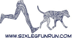 Six Leg Fun Run & 5k registration logo