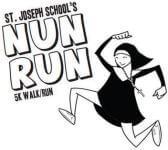 SJS Nun Run 5K & 1 mile Fun Run registration logo