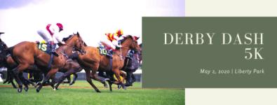 Derby Dash 5K registration logo