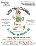 Sleep Tight Colorado 8th Annual 5K Pajama Jog registration logo