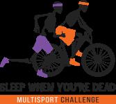 Sleep When You're Dead Multisport Challenge registration logo