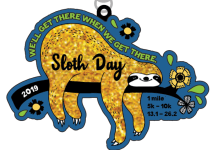 Sloth Day 1 Mile, 5K, 10K, 13.1, 26.2 registration logo