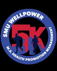 SMU Virtual Wellpower 5k registration logo