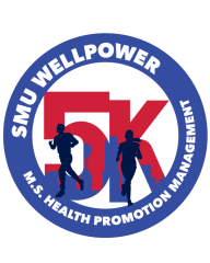 SMU Virtual Wellpower 5k registration logo