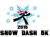 Snow Dash 5K registration logo