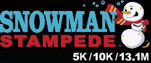 Snowman Stampede registration logo
