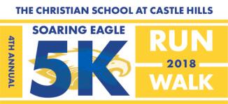 Soaring Eagle 5k & 1 Mile Run registration logo