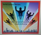 Social Justice Heroes - Running for Students4Giving registration logo