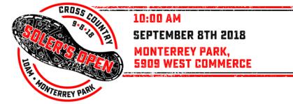 Soler's Open registration logo