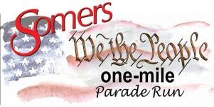 Somers' Let Freedom Ring Parade Mile registration logo
