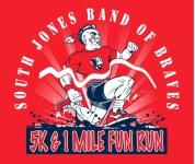 SOUTH JONES BAND OF BRAVES 5k/1 Mile Fun Run registration logo