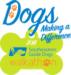 Southeastern Guide Dog Wag N' Run registration logo