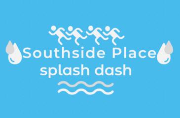 Southside Place Splash Fun Run registration logo