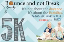 Spare Key Bounce and not Break 5K registration logo