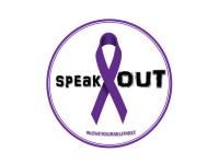 SPEAK OUT INC. Domestic Violence 5K Walk/Run registration logo