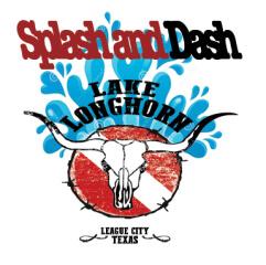 Splash & Dash Lake Longhorn registration logo