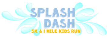 Splash Dash 5K & 1 Mile Kids Run registration logo