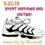 Sport Unites Community 5K registration logo