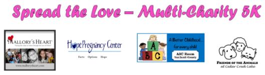 Spread the Love registration logo