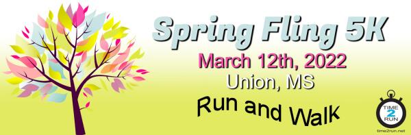 Spring Fling 5K registration logo